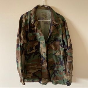 Jackets & Blazers - VINTAGE Oversized Camo Utility Jacket
